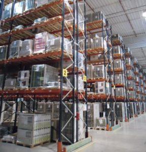 storage, warehouse, skladovanie, regale